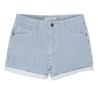 Vêtements Fille Shorts / Bermudas Deeluxe BILLIE Blanc / Bleu
