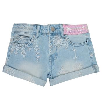 Vêtements Fille Shorts / Bermudas Desigual FILLEA Bleu