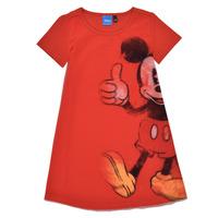 Vêtements Fille Robes courtes Desigual KINIA Rouge
