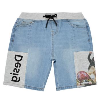 Vêtements Garçon Shorts / Bermudas Desigual KESSY Bleu