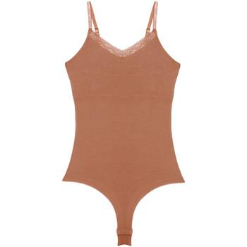 Sous-vêtements Femme Bodys Underprotection Bea Beige