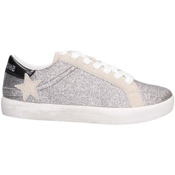 Chaussures Fille Baskets basses Shop Art SA040024 ARGENT / BLANC