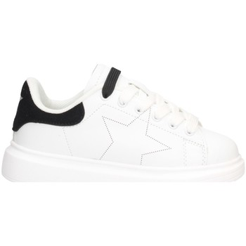 Chaussures Fille Baskets basses Shop Art SA040003 BLANC NOIR