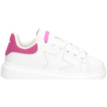 Chaussures Fille Baskets basses Shop Art SA040003 BLANC / FUCHSIA