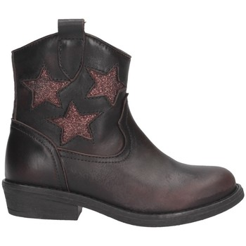 Chaussures Fille Bottes ville Dianetti Made In Italy I9790 Texano Enfant T. MORO T. MORO