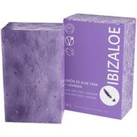 Beauté Produits bains Ibizaloe Jabón De Aloe Vera + Lavanda  100 g