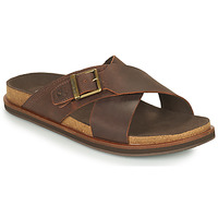 Chaussures Homme Mules Timberland AMALFI VIBES CROSS SLIDE Marron