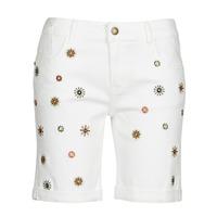 Vêtements Femme Shorts / Bermudas Desigual GRECIA Blanc