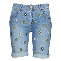 Vêtements Femme Shorts / Bermudas Desigual GRECIA Bleu