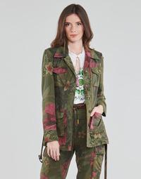 Vêtements Femme Vestes / Blazers Desigual CAMOASIS Kaki