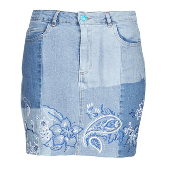 Vêtements Femme Jupes Desigual BE BLUE Bleu