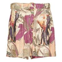 Vêtements Femme Shorts / Bermudas Desigual ETNICAN Multicolore