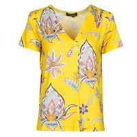 Vêtements Femme T-shirts manches courtes Desigual LEMARK Jaune