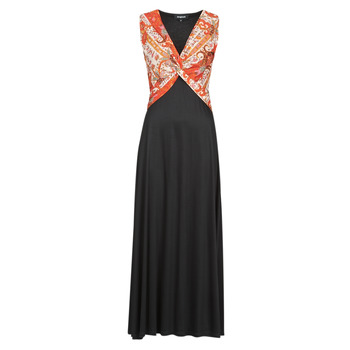 Vêtements Femme Robes longues Desigual YAKARTA Noir