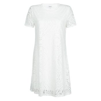 Vêtements Femme Robes courtes Desigual NILO Blanc