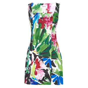 Vêtements Femme Robes courtes Desigual HONOLULU Multicolore