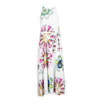 Vêtements Femme Robes longues Desigual SENA Blanc