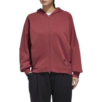 Vêtements Femme Sweats adidas Originals W MHS WORD HD GIACCHETTO CON CAPPUCCIO BORDEAUX Rouge