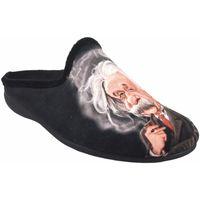 Chaussures Homme Chaussons Gema Garcia Go home gentleman  7105-27 noir Noir