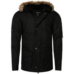 Vêtements Homme Parkas Geographical Norway Parka hiver  Parka Abiosaure noir Noir