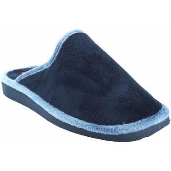 Chaussures Femme Chaussons Gema Garcia Rentrer à la maison dame  2308-1 bleu Bleu