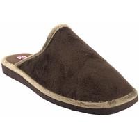 Chaussures Homme Chaussons Gema Garcia Go home gentleman  2306-1 marron Marron