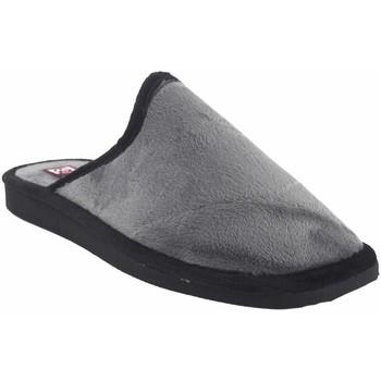 Chaussures Homme Chaussons Gema Garcia Go home gentleman  2306-1 gris Gris