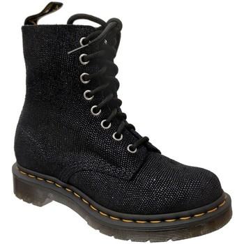 Chaussures Femme Boots Dr Martens 1460 pascal glitter ray Noir glitter