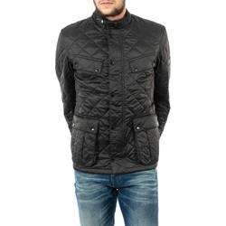 Vêtements Homme Blousons Barbour mqu1240 bk91 black noir