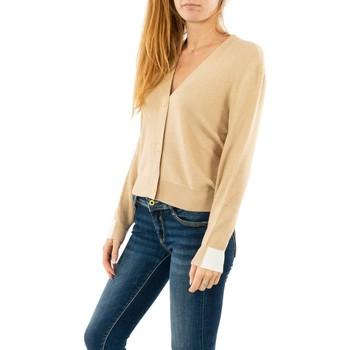 Vêtements Femme Gilets / Cardigans Street One button cardigan 12515 cream beige