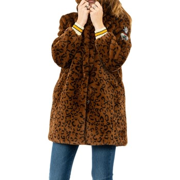 Vêtements Femme Manteaux Bsb 044-219002 cocoa marron