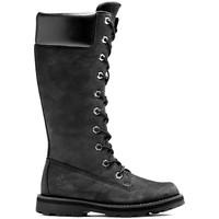 Chaussures Enfant Bottes Timberland Courma kid tall zip Noir