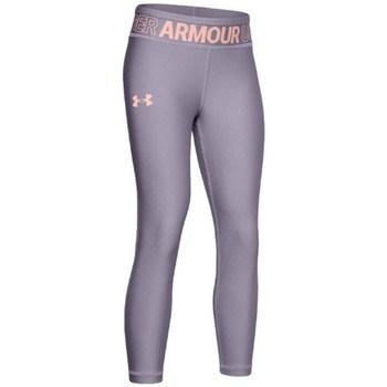 Vêtements Fille Leggings Under Armour HG Ankle Crop K Gris