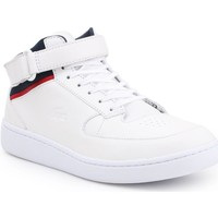Chaussures Homme Boots Lacoste Turbo Blanc