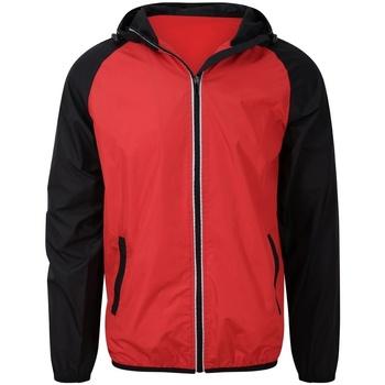 Vêtements Homme Vestes de survêtement Awdis JC062 Rouge / noir