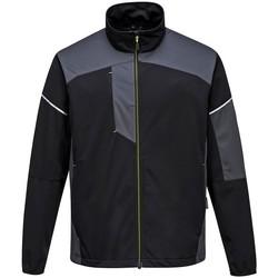 Vêtements Homme Vestes de survêtement Portwest PW365 Noir / Gris