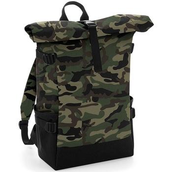 Sacs Sacs à dos Bagbase BG858 Camouflage / Noire