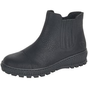 Chaussures Femme Bottines Rieker Fenja Schwarz Noir
