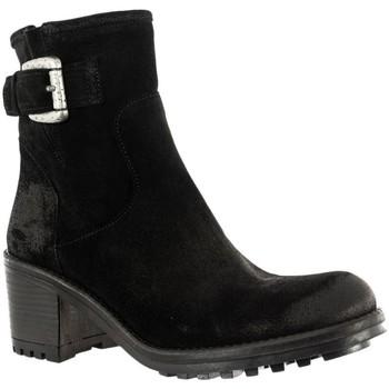 Chaussures Femme Bottines E-cow andreia maria oil noir