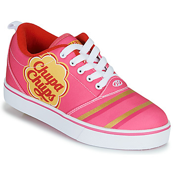Chaussures Fille Chaussures à roulettes Heelys CHUPA CHUPS PRO 20 Rose / Blanc