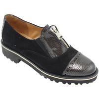 Chaussures Femme Mocassins Angela Calzature ANSANGC097cer nero