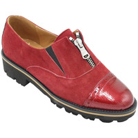 Chaussures Femme Mocassins Angela Calzature ANSANGC097rs rosso
