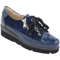 Chaussures Femme Derbies Angela Calzature ANSANGC104blu blu