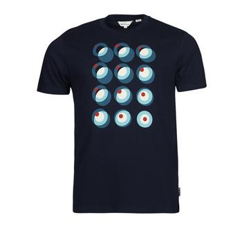 Vêtements Homme T-shirts manches courtes Ben Sherman TARGET CONSTRUCTION Marine