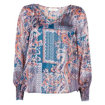 Vêtements Femme Tops / Blouses Cream SHEENA BLOUSE Bleu
