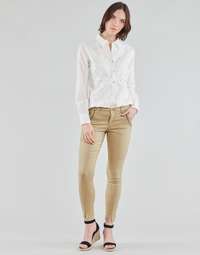 Vêtements Femme Pantalons 5 poches Cream HOLLY TWILL PANT Beige