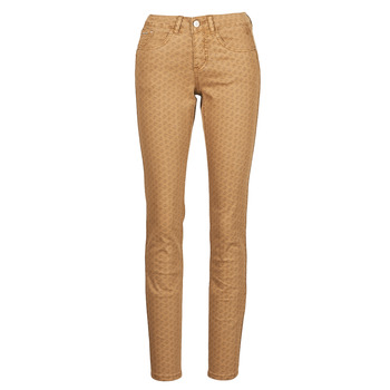 Vêtements Femme Pantalons 5 poches Cream LOTTE PRINTED Beige
