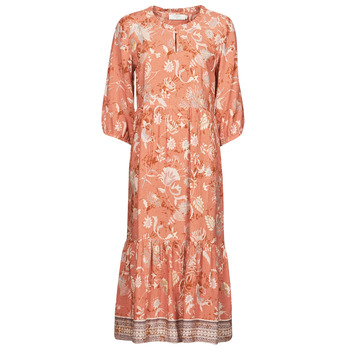 Vêtements Femme Robes longues Cream JOHUI DRESS Orange