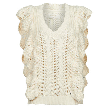 Vêtements Femme Pulls Cream ANNOLINA KNIT SLOPOVER Blanc