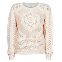 Vêtements Femme Pulls Cream CELESTE KNIT Beige